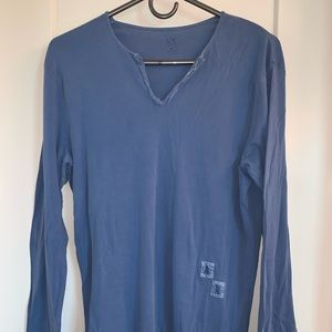 Armani Exchange long sleeved T-shirt.